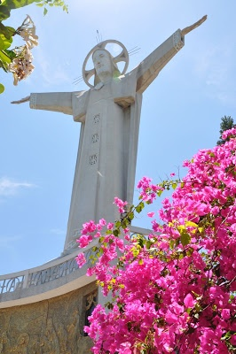 The Statue of Jesus Christ in Vung Tau, Vietnam