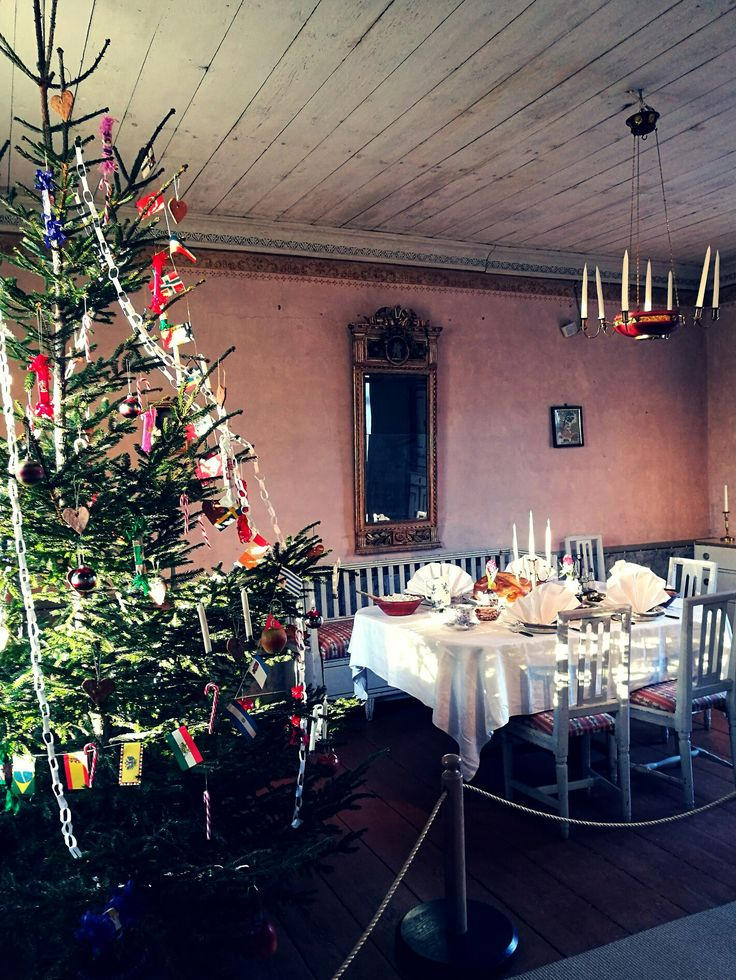 Dinner is served for christmas at the Burgess estate,welcome!