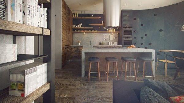 Hipster Apartment Design