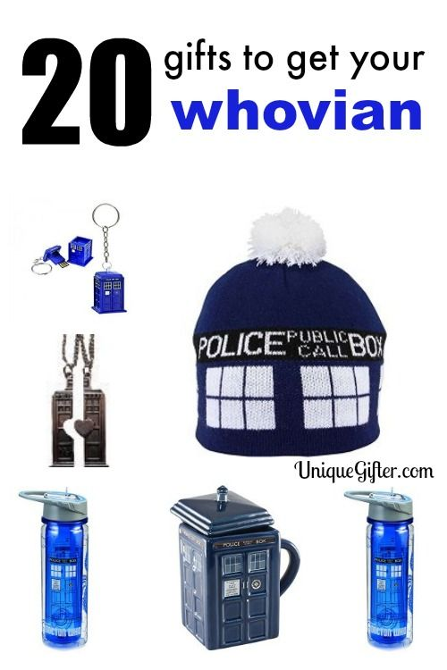 Dr Who Fans in the house! These are rad whovian gift ideas.