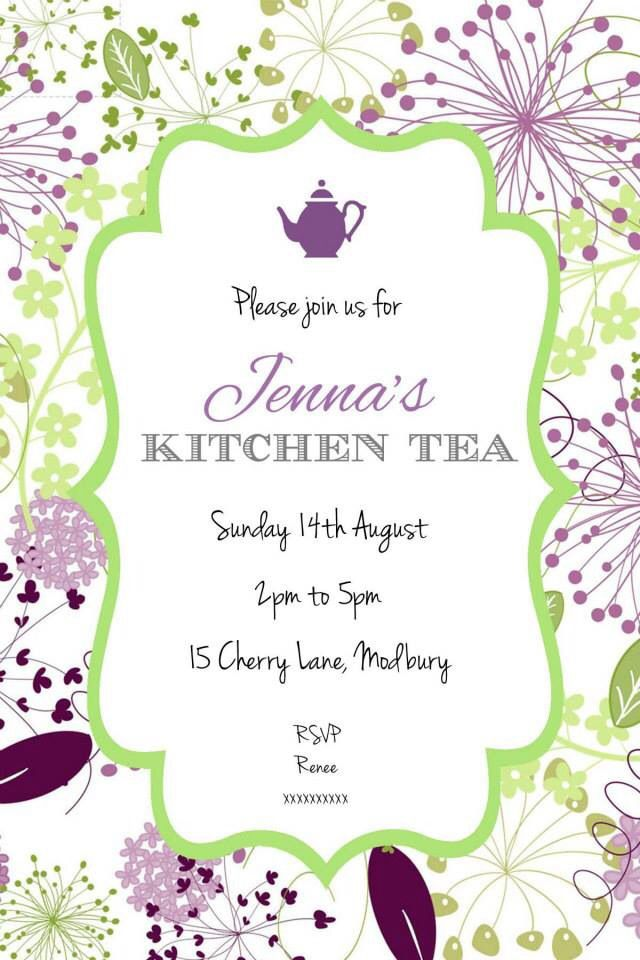 more at uploaded by user kitchen tea invites teas forward kitchen tea