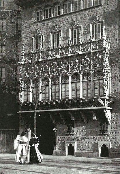 El Palacio del Barón de Quadras - Palau del Baró de Quadras / Casa Asia - La Barcelona de antes