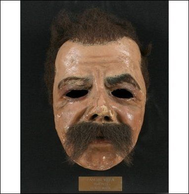 Pancho Villa's original death mask