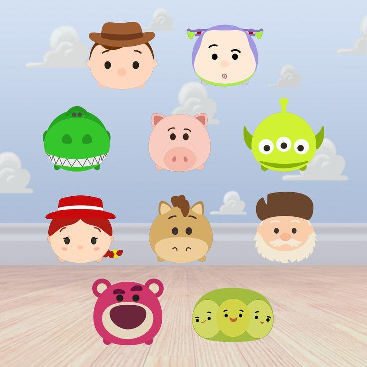 Krafty Nook: Tsum Tsum - Toy Story Fan Art