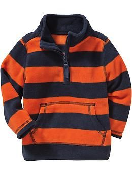 Performance Fleece 1/4-Zip Pullovers for Baby 6,40
