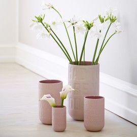 Love Song mellem vase - Rosa