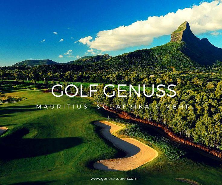Golf Genuss  - Golfen und Genießen bei unseren Golfreisen in #Südafrika, #Mauritius, #Deutschland, #Südtirol, #Seychellen