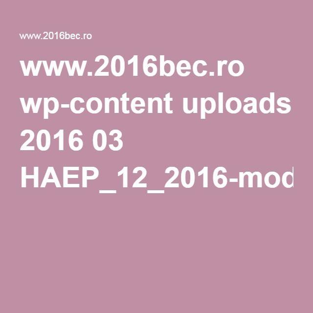 www.2016bec.ro wp-content uploads 2016 03 HAEP_12_2016-modele-PV.pdf