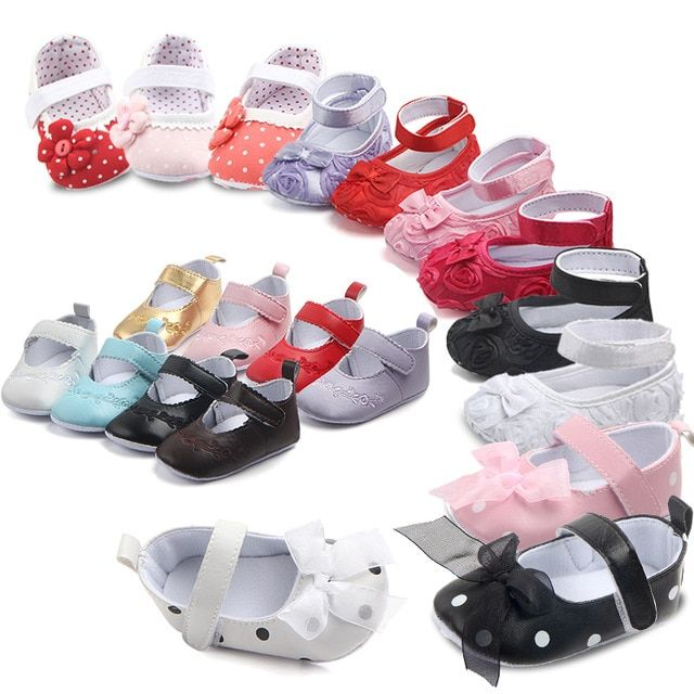 9763069968186 Non-Slip Baby First Walkers Girls Shoes Toddler Moccasins PU Leather Infant  Girl Soft Soled