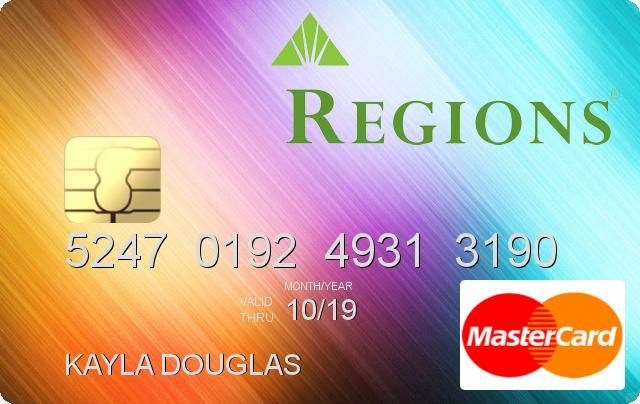 Regions credit card payment