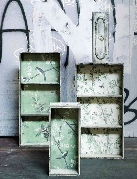 #recycled #drawers! via Nordal in Denmark