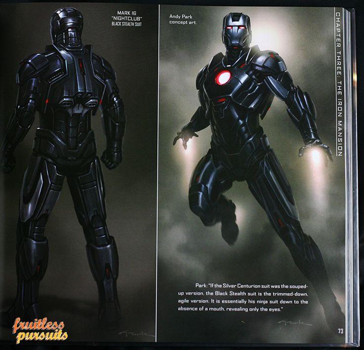 Black Iron Man Suit