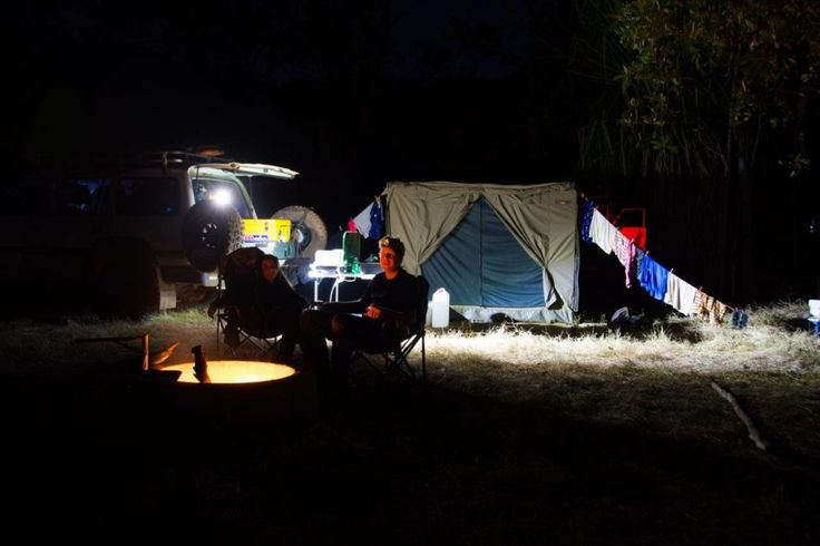 Camping at Silent Grove on the Gibb River Road