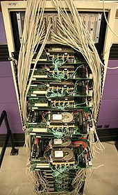 Google's first production server.