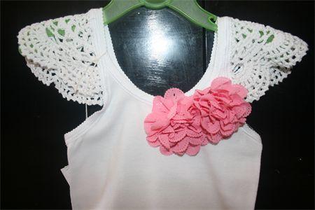 Girls Singlet Top Size 2 - 3   Annabelles Attic   madeit.com.au