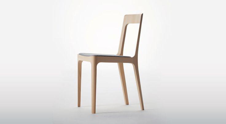 Hiroshima Dining Chair - designed by Naoto Fukasawa, from Luminaire.