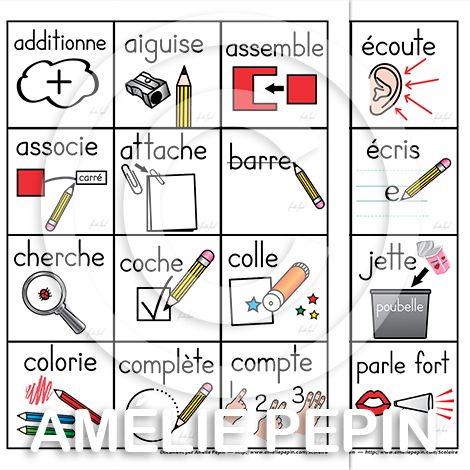 Fichiers PDF téléchargeables Versions en couleurs et en noir et blanc 6 consignes par page, 7 pages 12 consignes par page, 4 pages