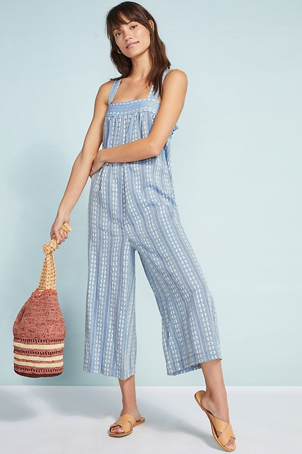 1dc363f0b9 Slide View  1  Seafolly Dobby Striped Jumpsuit