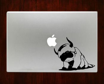 Avatar Appa Airbender Decal Sticker For Macbook Pro Air Retina 11 / 13 / 15 / 17 inch Macbook Laptop 1. Easy application in minutes.2. High resolution, full detail precision cut.3. Decals are cut on H