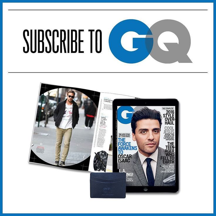 Our January Issue featuring #StarWars Oscar Issac is here! Kick start the new year with a GQ Subscription. Order now at the link in our bio and youll get our custom-made limited edition GQ x @hookandalbert leather card holderavailable for a limited time only. by gq