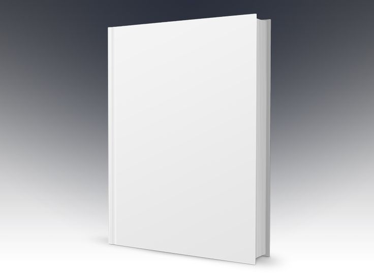 Book Template - Free PSD