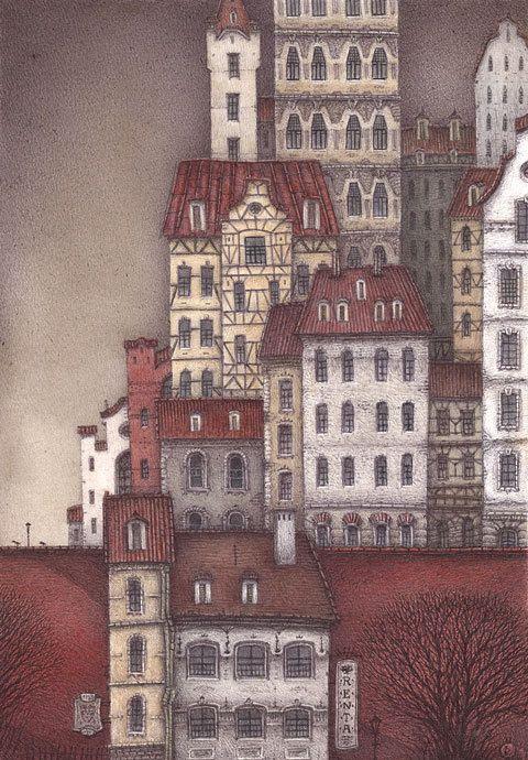 Ляляков Дмитрий - Баварские домики