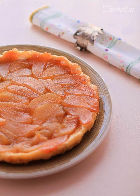 Tarta Tatin de manzanas caramelizadas