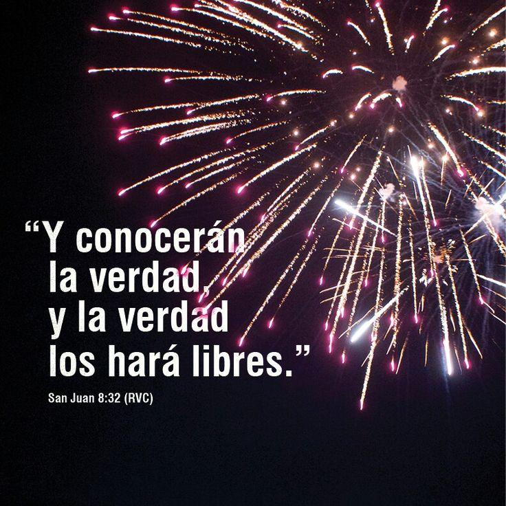 Hoy es el Día de Independencia; celebremos la libertad con la verdad de Dios en nuestras vidas.