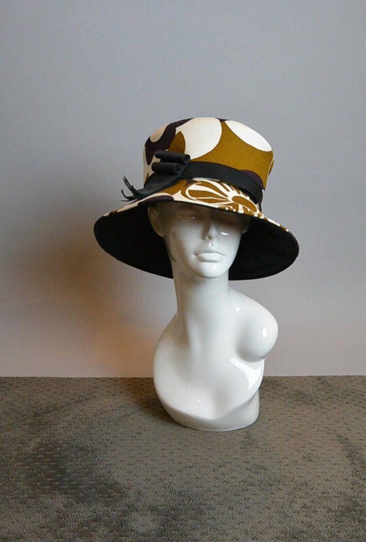 03d4ed34332 60s Mod Throwback Hat   80s Does Mod Hat