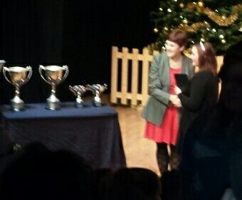 Jess gcse certificate awards night