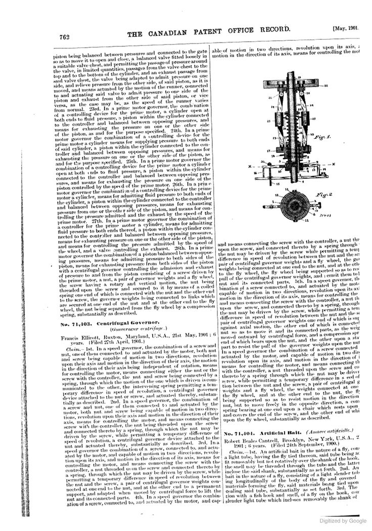 Canadian Patent Office Record Patent office, Patent, Records