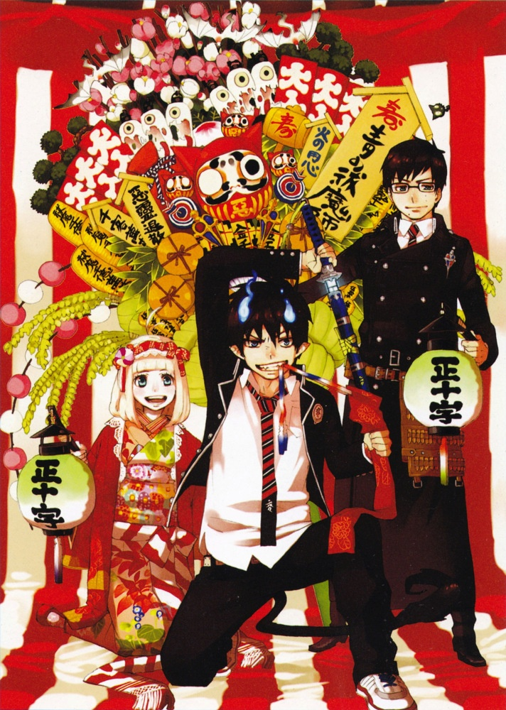 Ao no Exorcist / Blue Exorcist | anime | www.animepaper.net