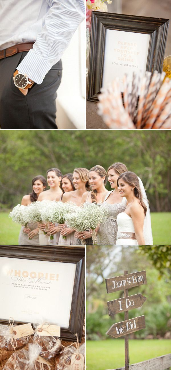 Red Fish Grill Wedding by 1313 Photography – Style Me Pretty