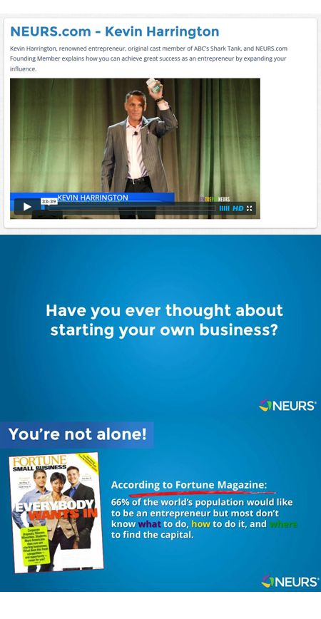 Kevin Harrington at the NEURS Launch Event in Hollywood, FL