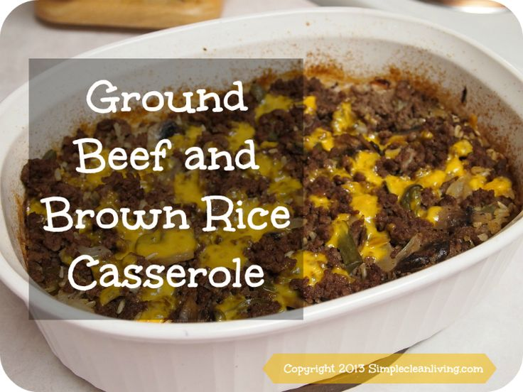 20 best healthy beef images on pinterest beef recipes for Healthy casserole crock pot recipes