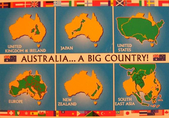 australia + england compared in size to america - Bodybuilding.com ...