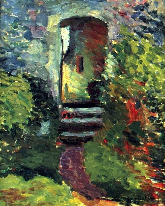 Henri Matisse. The Little Gate of the Old Mill (1898).