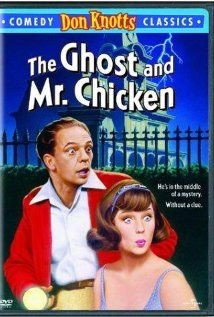 The Ghost and Mr. Chicken...the scissors in the picture scared me as a child...slept on the floor in my parents room for a few nights!