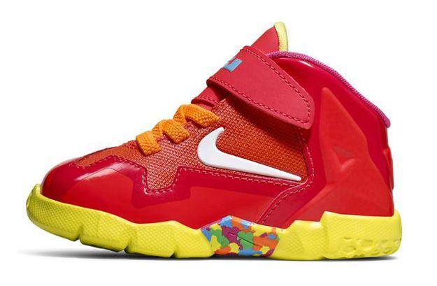 Nike leBron 11 Fruity Pebbles Toddler