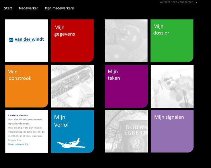 Mogelijk InSite pagina voor Van der Windt!