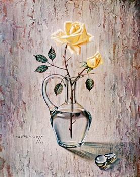 Rose in Decanter