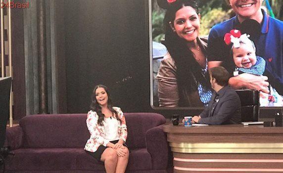 Em entrevista ao Programa do Porchat, Thais Fersoza dispara: -Eu amo ficar grávida