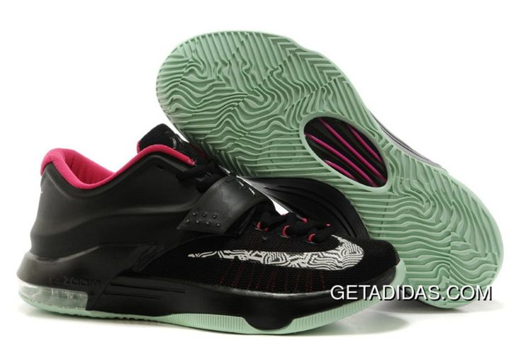 http://www.getadidas.com/nike-kd-vii-black-green-pink-topdeals.html NIKE KD VII BLACK GREEN PINK TOPDEALS Only $79.45 , Free Shipping!