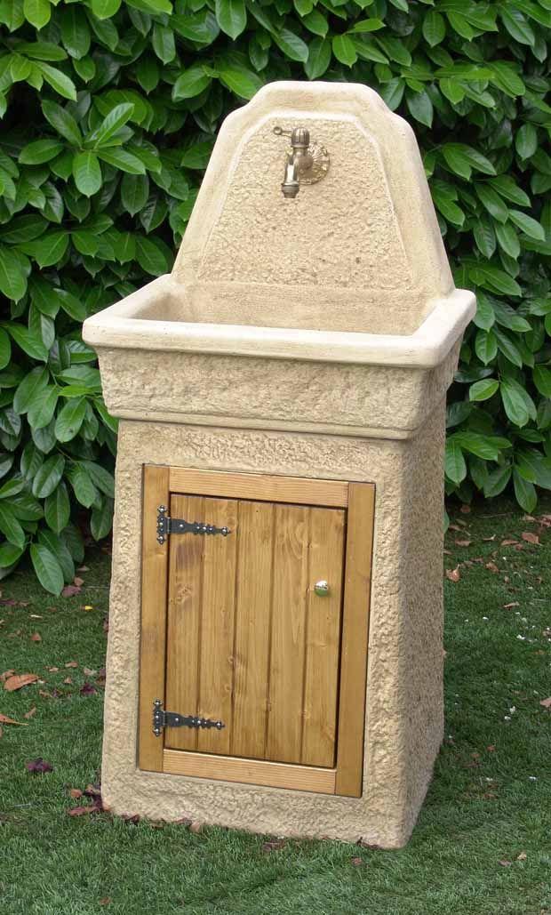Lavello da giardino usato design casa creativa e mobili - Pilozzo esterno ...