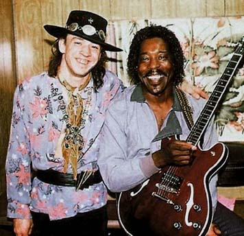 Stevie Ray Vaughan & Buddy Guy - 2 of my blues heroes!