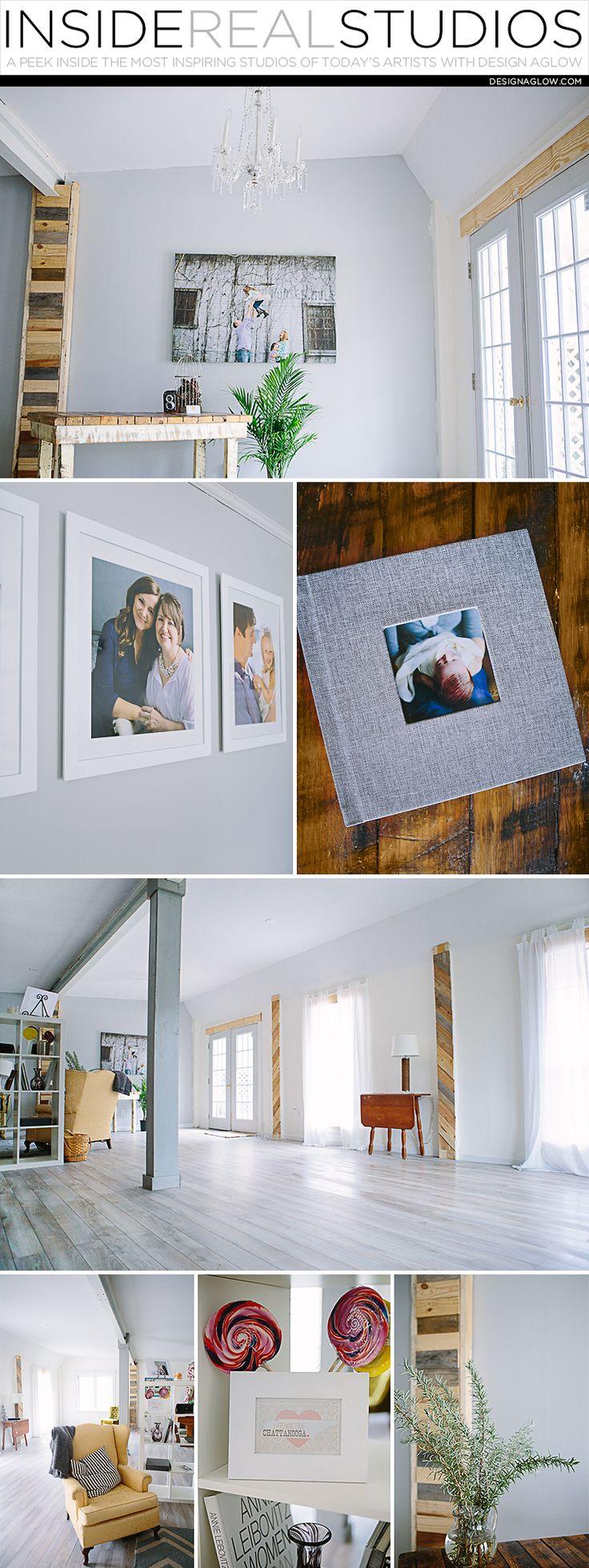 Inside Real Studios with Design Aglow: Emily Lapish Photography #designaglow