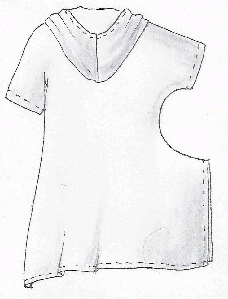 Tunic, Shirt, Upcycled Clothing Ideas, Pattern, Sewing Pattern, stitching, diy, fashion