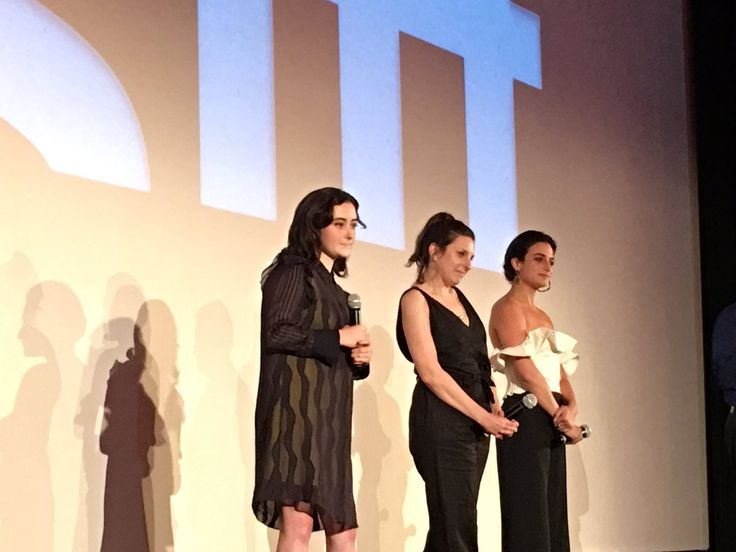 I was there! SIFF rocks! Jenny Slate and team for their movie Landline in Seattle at the Egyptian 2017.  Abby Quinn announced she recorded her debut album near us in Woodinville!