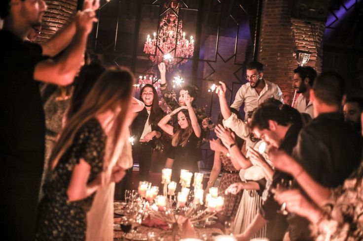 #KenzaSweet30 - Party time in Marrakech at Dar Soukkar.  La Revue de Kenza by Kenza Sadoun el Glaoui