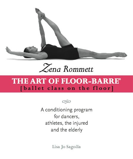 The Zena Rommett Floor-Barre Technique® is a gentle and highly effective method for correcting and refining body alignment, building muscular strength and length, strengthening joints and increasing vitality and artistic expression.